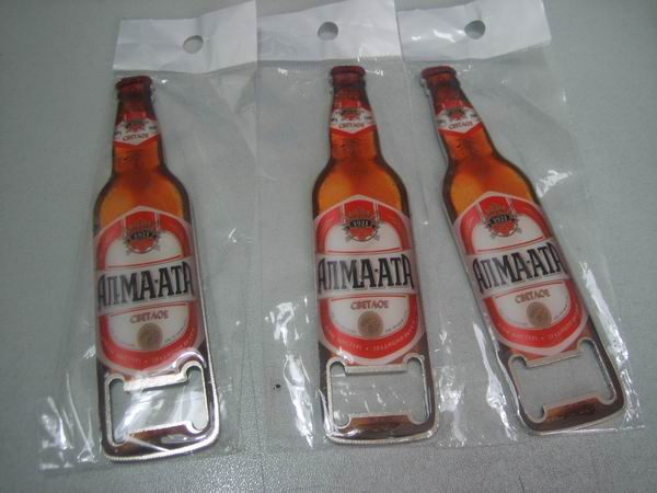 bottle shape bottle opener for restaurant