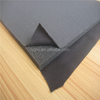 Environmental 3- layer foam laminated sponge fabric for bra pad