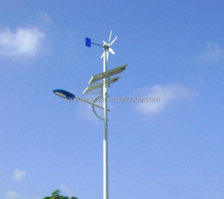 LED Lampu Tenaga Surya Lampu Jalan dengan Tiang