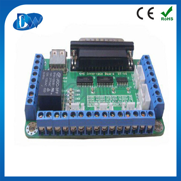 5 axis usb cnc controller mach 3 breakout board