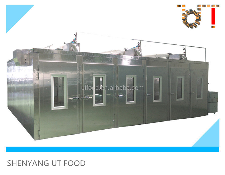 High Quality Multi-door Design Stainless Steel Dough Fermenter Bread Fermentation Room Industrial Bakery Equipment
