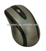 Promotional Both Hands Designs Gray USB Wired Mouse , M-801