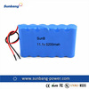 Hot sales 3S2P 18650 11.1V 5200mAh Lithium ion batteries for camper