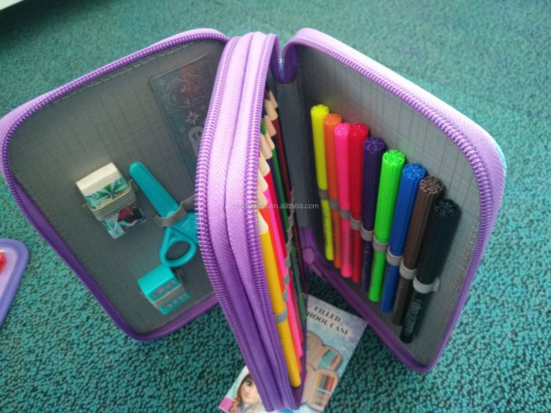 cute stationery set for school supply