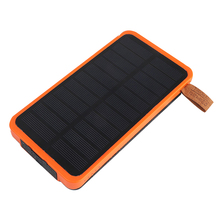 Solar power bank 10000mah solar charger as gift