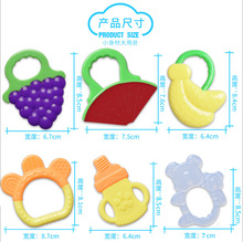 new design silicone toy teethers manhattan teether safe teethers