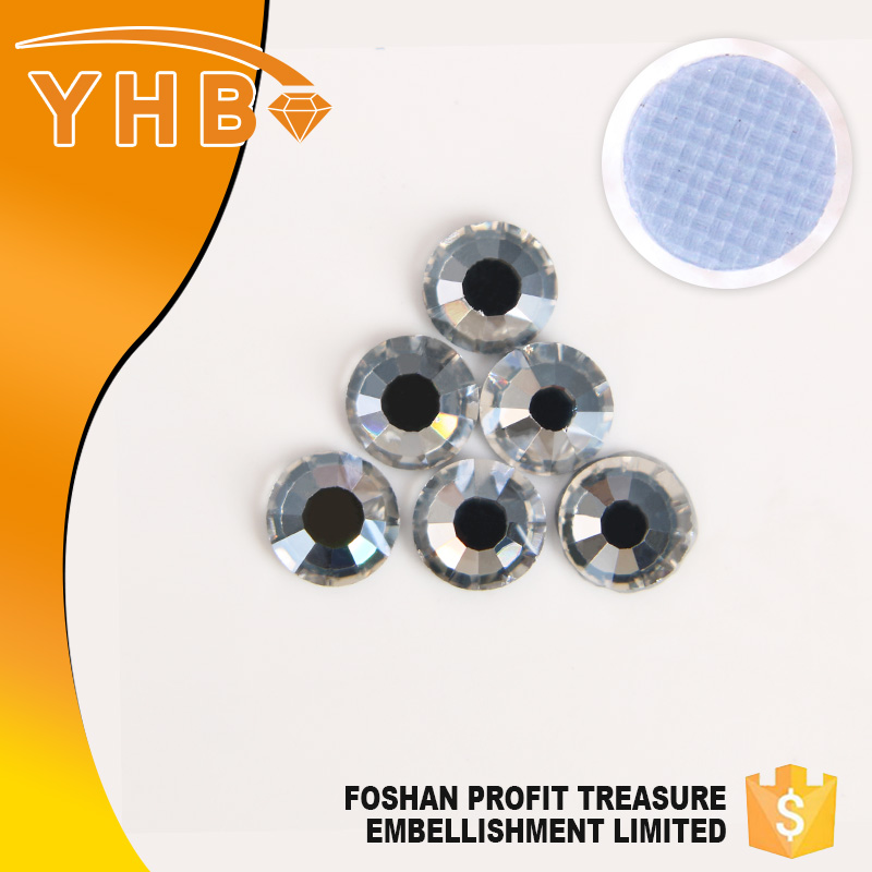 YHB wholesale in China batch manufacturing eastern star oes SS6-SS40 crystal rhinestone transfers