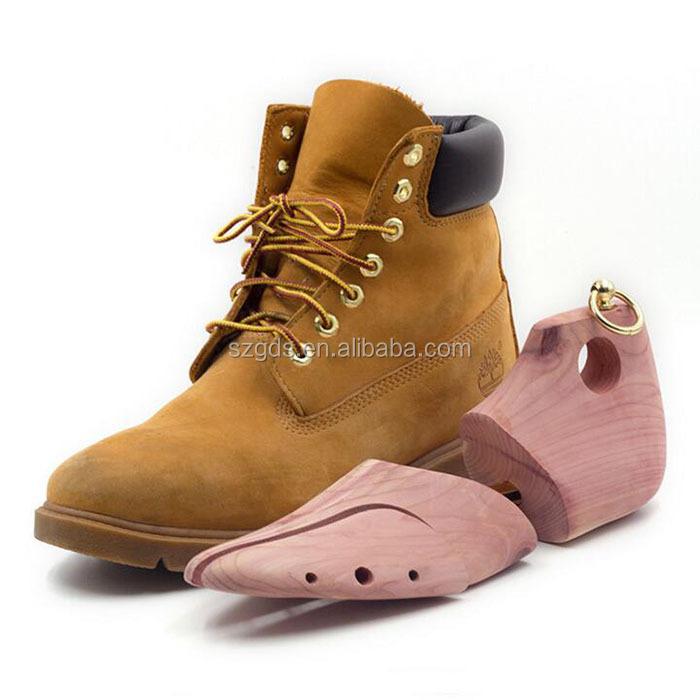 Middle boots Cedar wood Shoe Trees