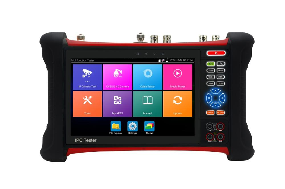CCTV camera tester 7 inch Touch screen All in one Multi-functions CCTV tester