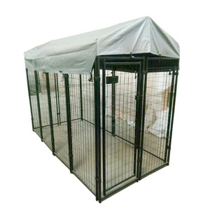 wholesale customized indoor / outdoor dog run puppy pet play pen metal dog fence