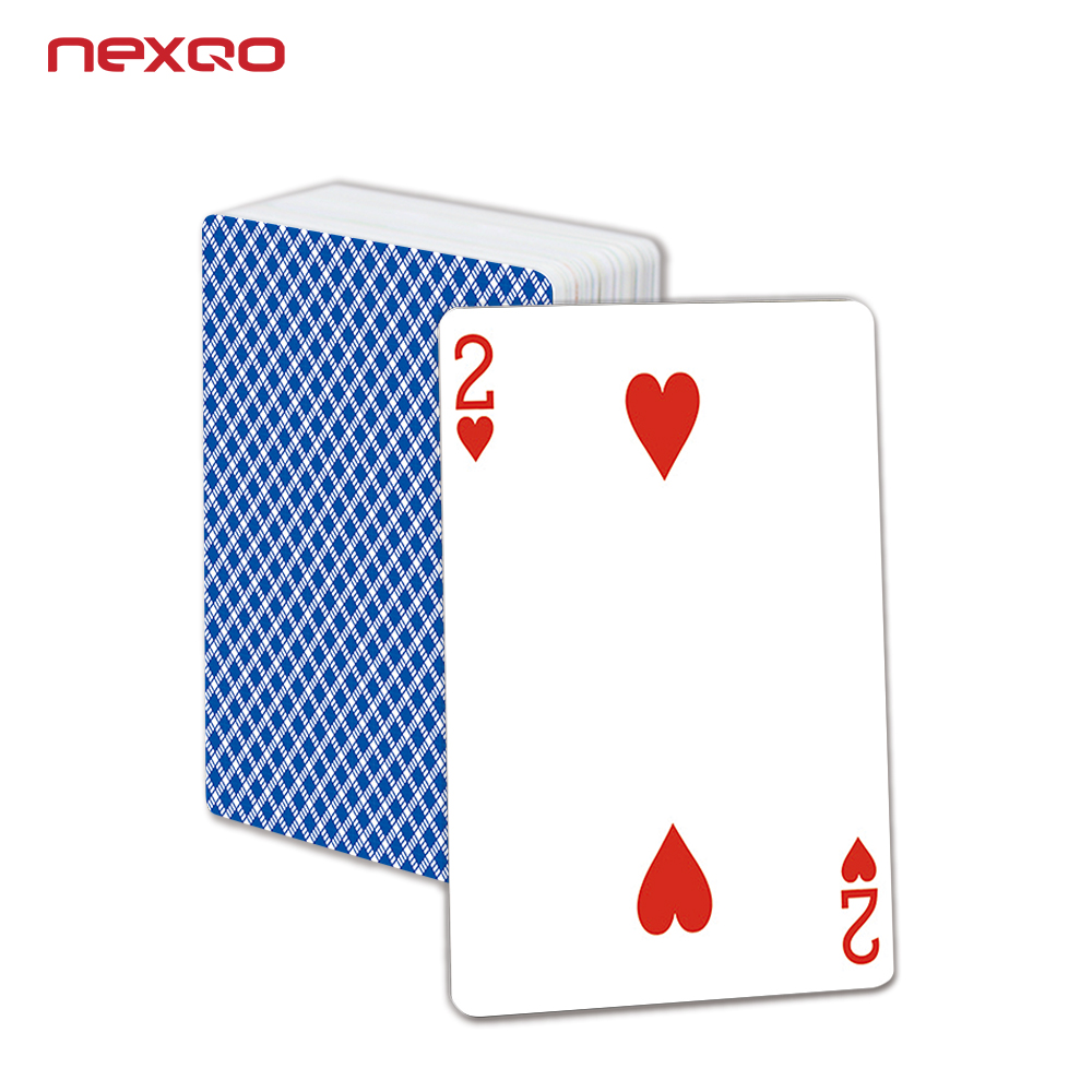 Custom Game Card PVC Poker Waterdicht RFID Speelkaarten