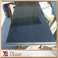 Indian Black Galaxy Granite Tiles 60x60