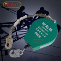 30M 40M falling protector safety catcher wire rope self retractable fall arrester