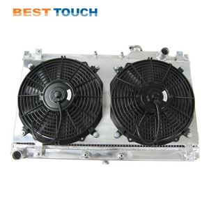 Seismic auto water cooling radiator for mercedes w126