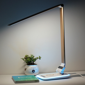 MESUN Wholesale desk lamp 7w foldable office working studying touch sensor usb led table light