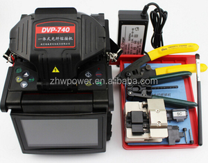 Fiber optic fusion splicer DVP 740,DVP 740 fiber optic cable splicing machine