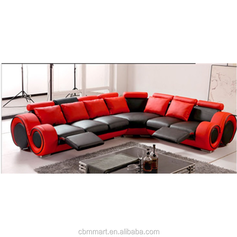 Red Leather Recliner Sofa/quilted Leather Sofa - Buy Red Leather Recliner  Sofa,Leather Sofa,Quilted Leather Sofa Product on Alibaba.com
