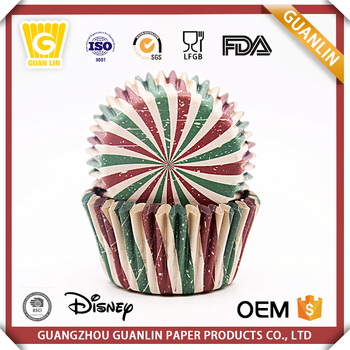 New Design Muffin Cup Cake Wrapper Greaseproof Paper Baking Cake Case