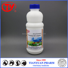 Veterinary Use Vitamin B1 B2 B6 B12 C K3 Oral Solution for poultry
