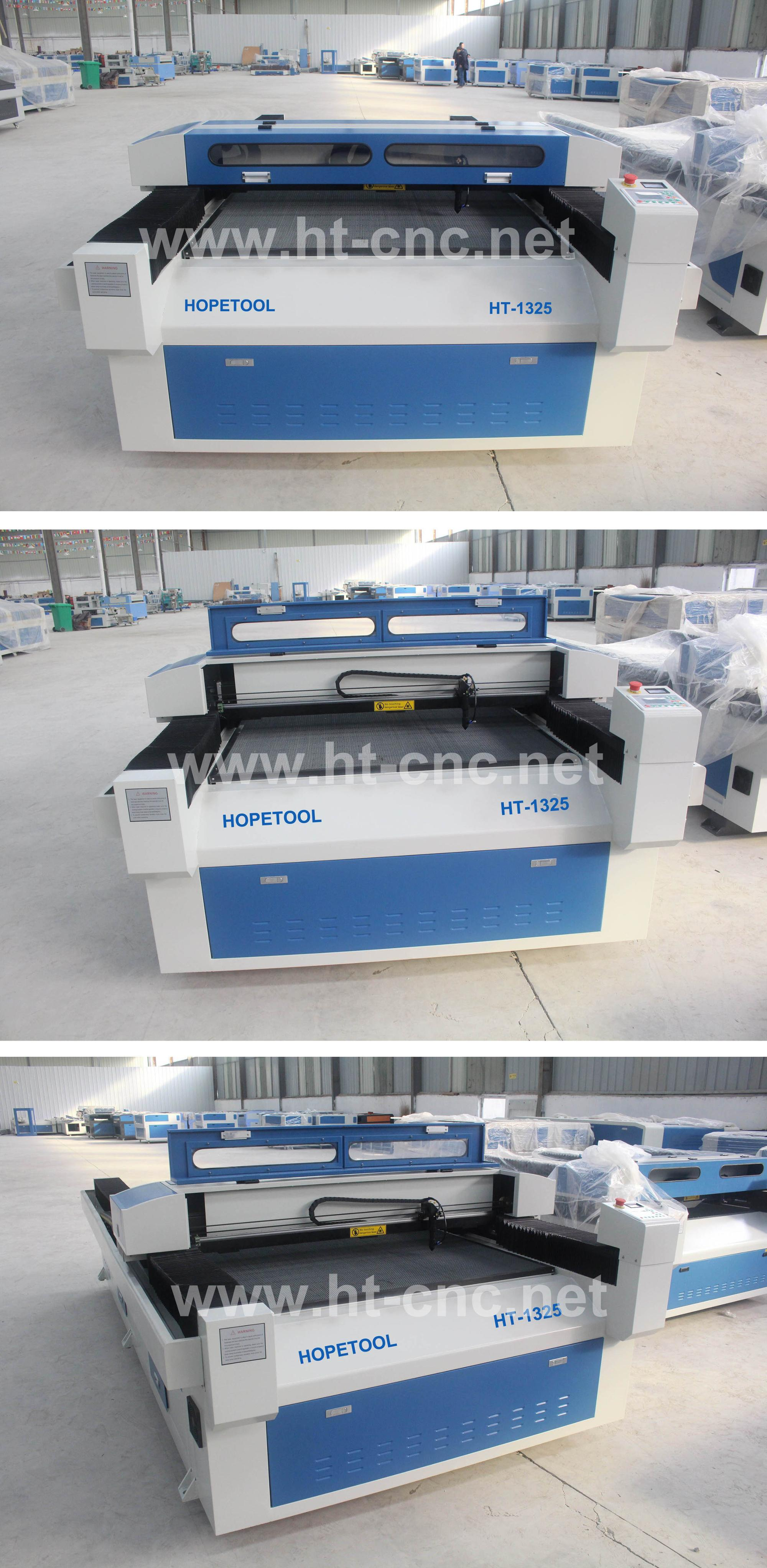 Large size laser cutter /CNC co2 laser cutter price for wood,fabric ,leather,cloth 130*250cm