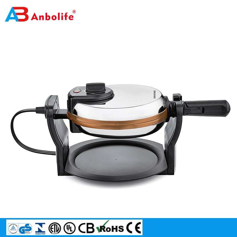 automatic shut-off rotating waffle maker cool touch griddle handles electric contact griddle sandwich/panini maker