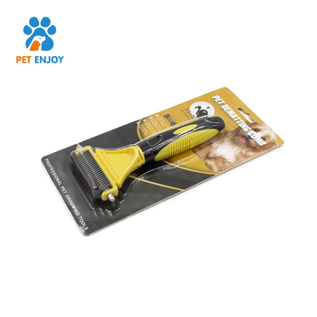 Best selling pet grooming tool shedding self cleaning dog brush cat brush products for dogs