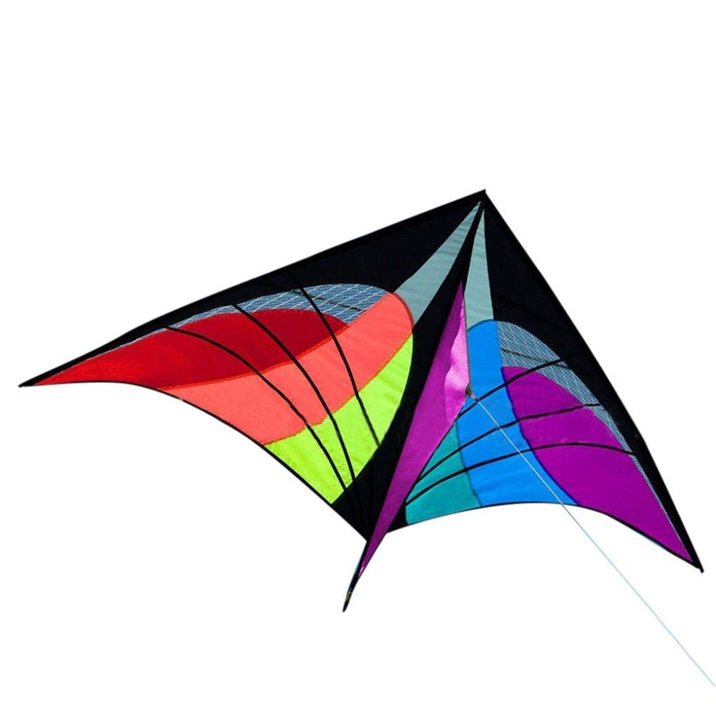 Gbell New Stunt Power Kite,Easy Fly Great Gift,Beach Grasslands Outdoor Fun Sports for Kids,Adults,Beginners