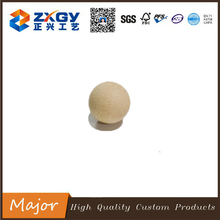 Hot selling natural round cute wooden bead as baby gift