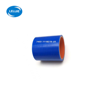 High pressure silicone turbo hose for KAMAZ
