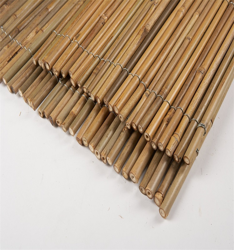 Wy-j396 Natural Bamboo Reed Fence - Buy Cheap Bamboo ...
