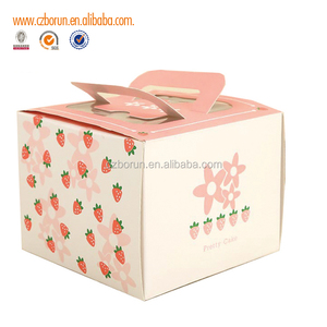 Hot selling snacks white cardboard packaging box made in China