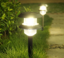Beautiful design European style led solar garden/ mini street light/lamp