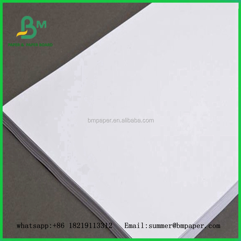 Grade A uncoated 70g 80g 100g woodfree jumbo roll paper for printing