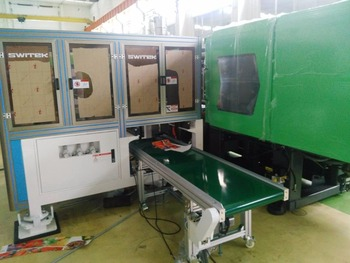 Sw830 High Speed Iml Labeling Robot For Arburg Injection Molding Machine -  Buy Robotics For Injection Moulding Machines,Injection Moulding Machine