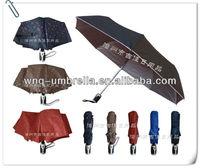 FAUV-21B high end full automatic 3 fold uv ray umbrella