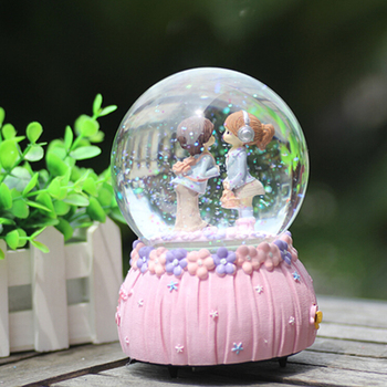 Cute Crystal Ball Birthday Gift For Girl Friend