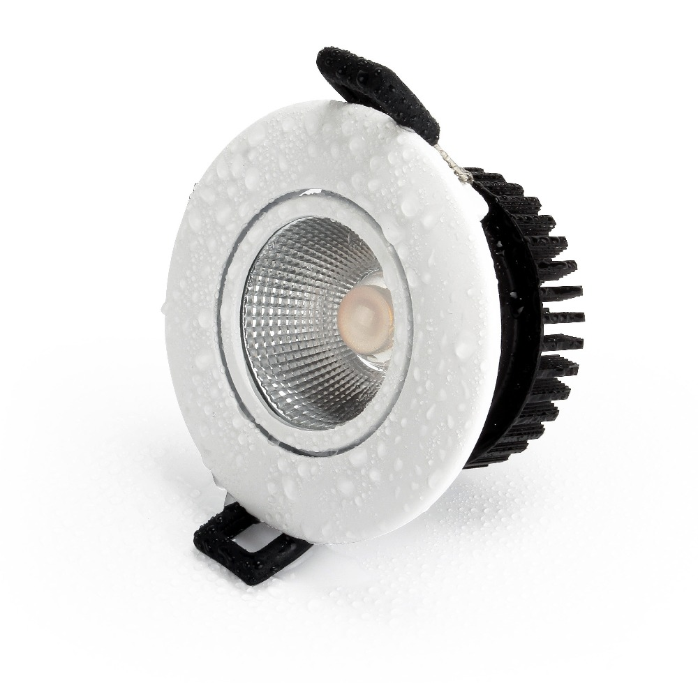 High quality indoor downlight 7w cob led downlight low height bathroom waterproof recessed led ceiling light