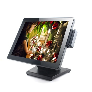 15 inch Touch Screen POS Fanless Android POS Terminal J1900 Low Consumption