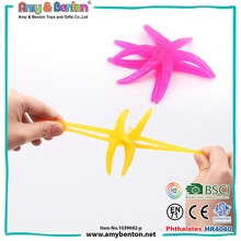 Promotional Anti Stress Toys Jelly Sticky Starfish Toy for sale
