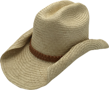 86e127647b6f6 T34-43Western Hats Straw Cowboy Hats With leather For Mens