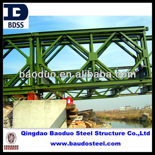 galvanized steel structures/bailey bridge for sale