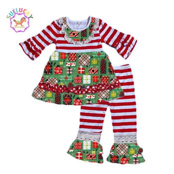daae64717ed5 Wholesale Baby Clothing Set Girls Christmas Clothing Cute Boutique ...
