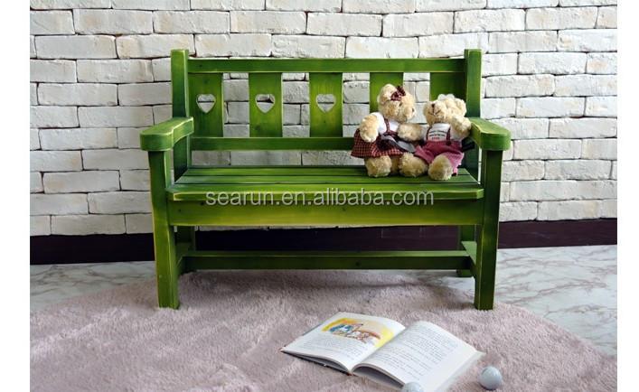 필드 단단한 나무 벤치 의자 테이블 의자 환경 색 의자 가구 장식 ...