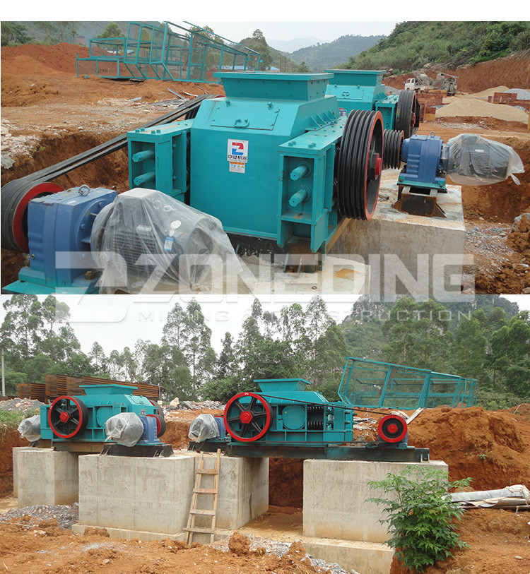 Mining used roller crusher mill teeth roller crusher plant for sale