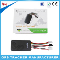 Personal gps tracker with google maps gt06 gps unit for car vehicle rental