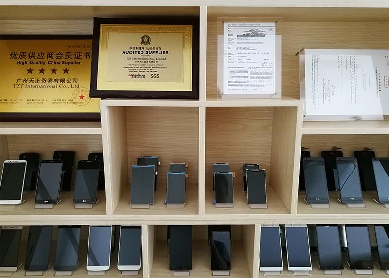 TZT OEM Hot Selling 100% Work Well Mobile Phone LCD Display for HUAWEI Y6/Y7/Y9 PRIME 2018 Screen