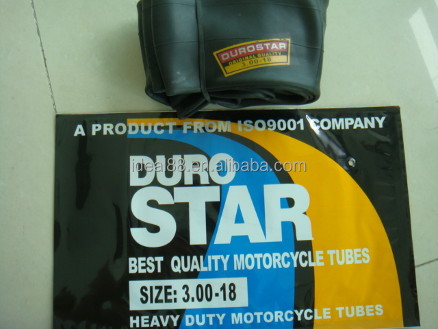 Wholesale DURO STAR motorcycle inner tube 3.00-18 (own factory)