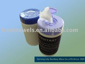 Canned wet wipes 100pcs/can