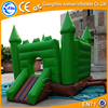 Construction Truck Inflatable Bounce House with Castle Slide Combo for Sale