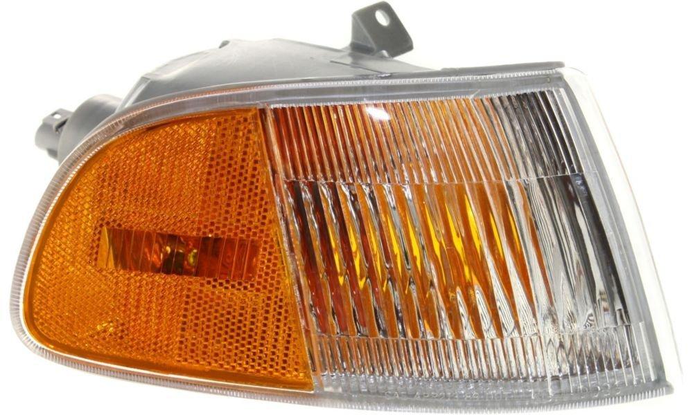 Evan-Fischer EVA20572013439 Corner Light for Honda Civic 92-95 Corner Lamp RH Assembly Side Marker Right Side Replaces Partslink# HO2531115